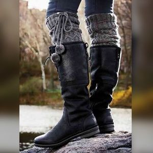 UGG Weather-Resistant Full-Grain Leather Boots